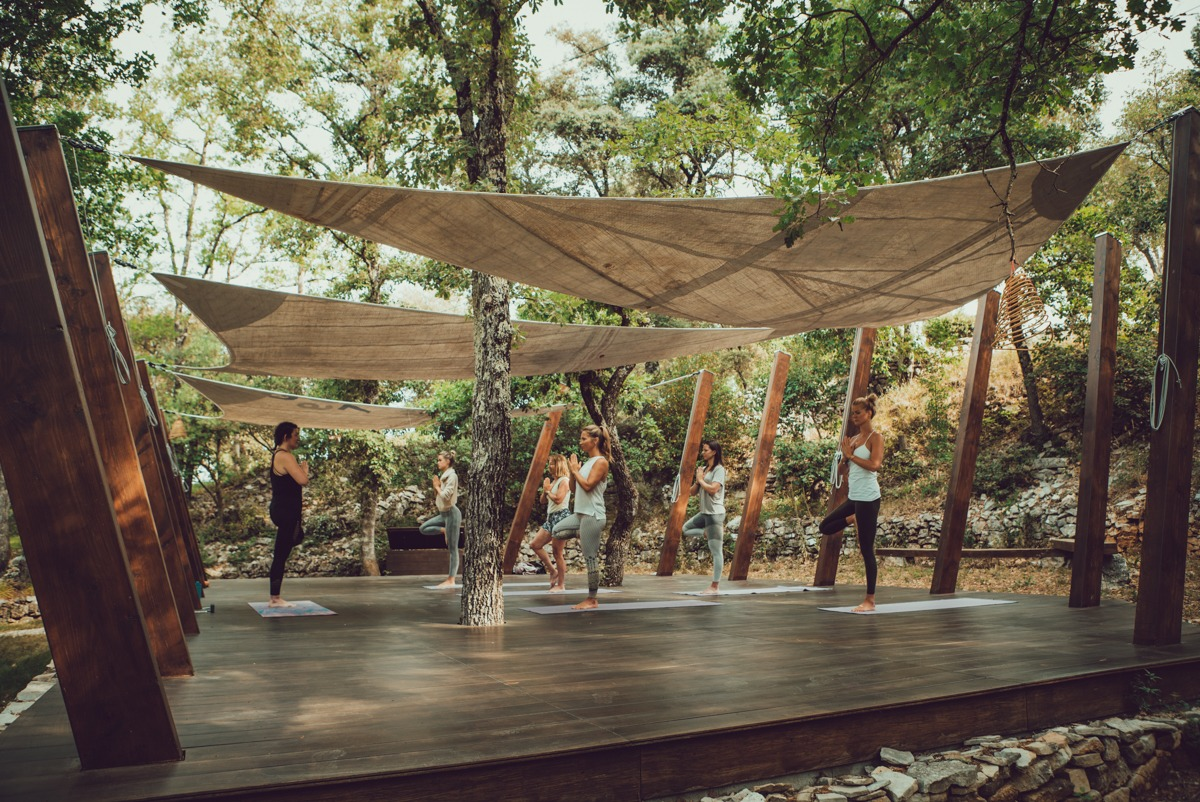 Yoga shala - Bastide Avellanne