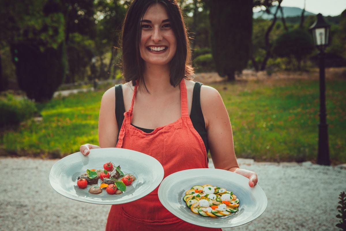 Vegetarian Food Bastide Avellanne - Provence