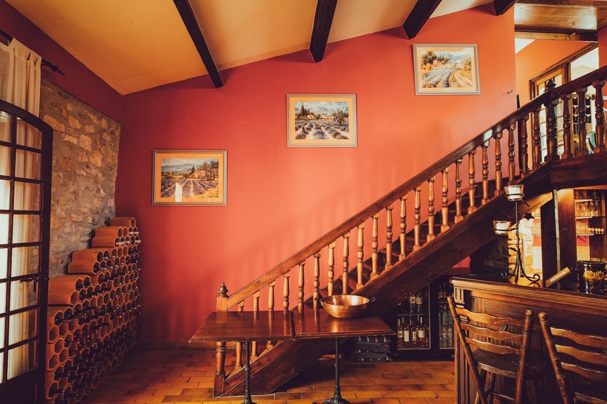 Red Room - Bastide Avellanne